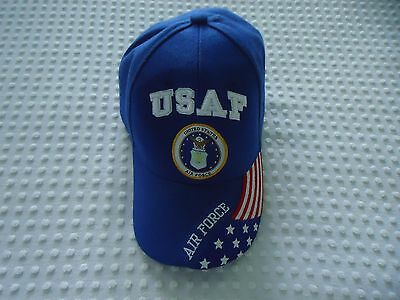 eb2fc664798 NEW MEN S One Size USAF Air Force Blue Flag Ball Cap Hat -  12.00 ...