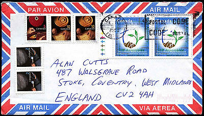 Canada 2003 Commercial Airmail Cover To UK #C38312