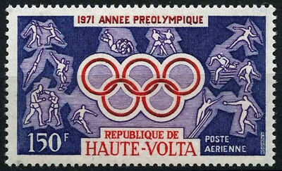 Upper Volta 1971 SG#330 Pre-Olympic Year MNH #D35390