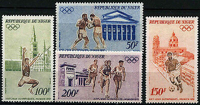 Niger 1972 SG#435-8 Olympic Games MNH Set #D35374