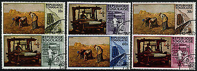 Togo 1968 SG#577-582 Paintings Cto Used Set #D35387