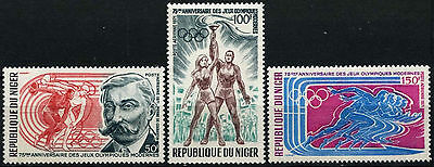 Niger 1971 SG#392-4 Olympic Games MNH Set #D35372