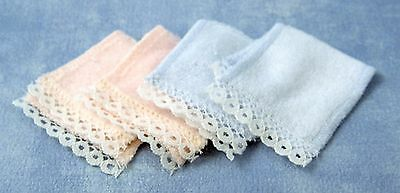 Dollshouse 1/12Th  Scale  Bath Towel 4 Pc Set