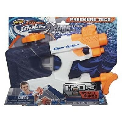 NEW HASBRO NERF SUPER SOAKER H2Ops SQUALL SURGE B4443