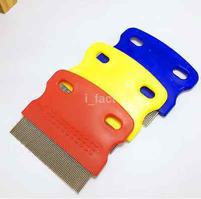Pet Dog Puppy Cat Flea Cleaning Trimmer Comb Hair Nit Lice Eggs Dust Remove CA