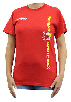 Tubertini FTM T-Shirt Rot ( Fishing Tackle Max ) AUSVERKAUF