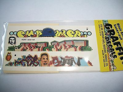 Blair Line Graffiti Decals HO Scale Mega Set #4 **NEW* Bob The Train Guy