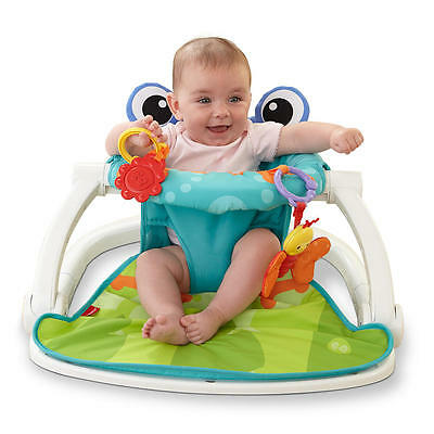 New Fisher-Price Sit-Me-Up Floor Seat - Frog Model:17724911
