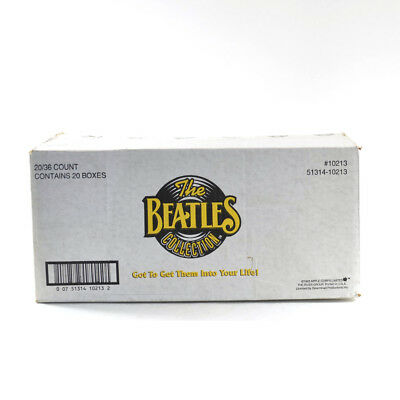 1993 The River Group The Beattles EMPTY Wax Box Case #10213 20/36 ct.