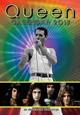 Queen 2017 A3 Calendar. Legends Calender