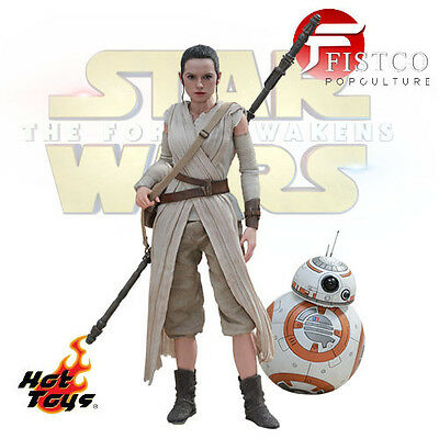 STAR WARS: The Force Awakens - MMS Doppelpack Rey & BB-8 (Hot Toys)