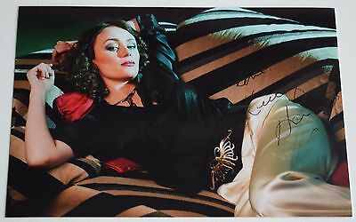 Keeley Hawes SIGNED 6x4 Photo Autograph Ashes to Ashes TV Film AFTAL COA