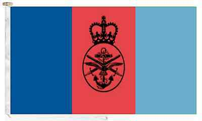 British Armed Forces Joint Service Roped & Toggled 2 Yard Boat Flag