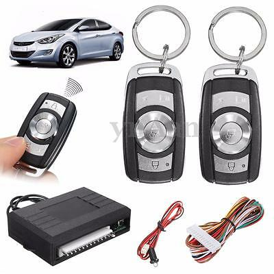Universal Vehicle Remote Car Control Central Door Lock Auto Keyless Entry System