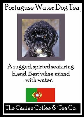 Portuguese Water Dog Tea in collectible tin