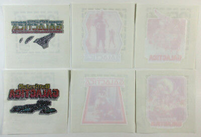 Lot of (6) 1978 Battlestar Galactica Iron-On Shirt Heat Transfers ^ 6 Different