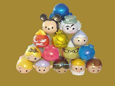 Tsum Tsum Disney Figures - SERIES 3 - METALLIC - Choose Yours! - rubber plastic