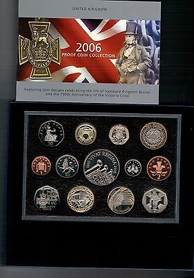 GB.ROYAL MINT 2006  PROOF SET WITH C.O.A. boxed