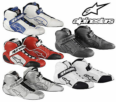 Alpinestars Tech 1-T Race Boots, FIA & SFI Approved Oval/Autograss/Rally - SALE