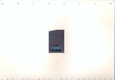 TVR Griffith - original UK market 1990s colour sales brochure