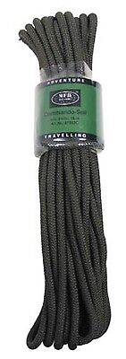 BW Kommando Seil Strick 15 m 9mm Multifunktionsseil Outdoor oliv Paracord !