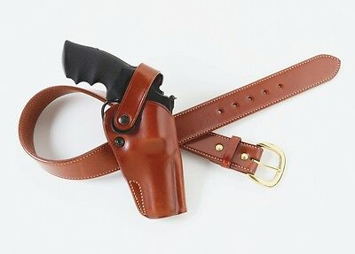 Galco DAO104 Dual Action Outdoorsman Belt Holster RH S&W K L Frame