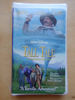 Disney Tall Tale: The Unbelievable Adventure (VHS, 1996) Factory Sealed