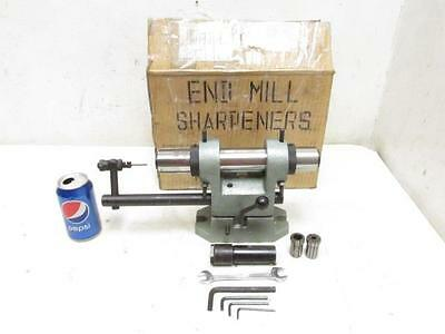 Nice End Mill Cutter Grinder Sharpener Fixture Collets Accs.
