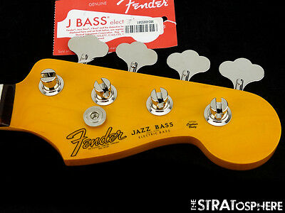 Fender Vintage 60s RI LACQUER Nitro JAZZ BASS NECK & TUNERS 1962 J Rosewood