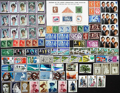 Mix Of Mint Stamps From Great Britain