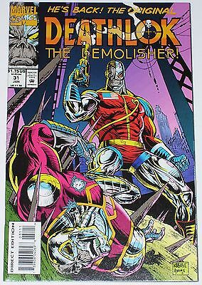 Deathlok #31 from Jan 1994 VF to VF/NM