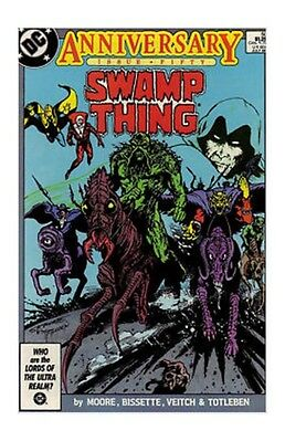 (1986) SWAMP THING #50! 1st Appearance of Justice League Dark! Alan Moore!