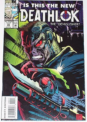 Deathlok #32 from Feb 1994 VF to VF/NM