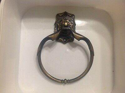 Vintage Amerock Carriage House Towel Ring