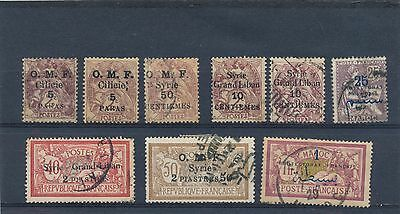 stamp france colonies Syria Syrie collection HPS