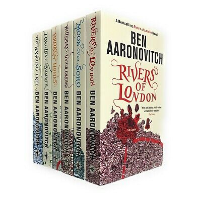Rivers of London Series Collection Ben Aaronovitch 6 Books Set NEW Hanging Tree