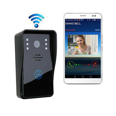 Hot Wireless Wifi Remote Video Camera Phone Intercom Door bell Home Security