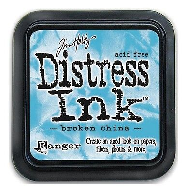 Tim Holtz Distress Ink Pad - BROKEN CHINA - Blue