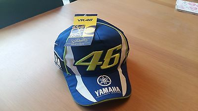 Valentino Rossi Vr46 M1 Yamaha Factory Racing Moto Gp Cap Hat 2016 Official 46