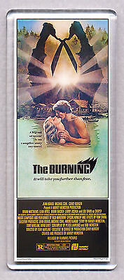 THE BURNING movie poster 'WIDE' FRIDGE MAGNET  - 80's HORROR Classic!
