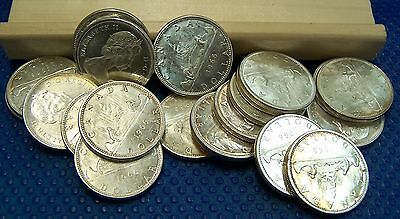 One 1966 CANADIAN Silver Dollar .800 fineness 23.3gr. Condition UNC-60 to UNC-62