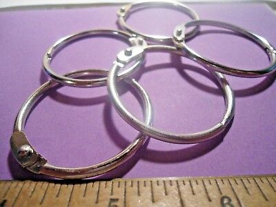 "12 ~  1 1/2""  Loose-Leaf  Binder  Rings"