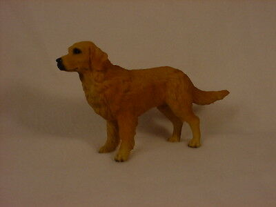 GOLDEN RETRIEVER Dog HAND PAINTED FIGURINE Resin Statue COLLECTIBLE Puppy NEW