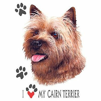 Cairn Terrier Love T Shirt Pick Your Size Youth Medium to 6 X Large