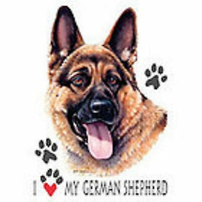 German Shepherd Love T Shirt Pick Your Size Youth Medium to 6 X Large