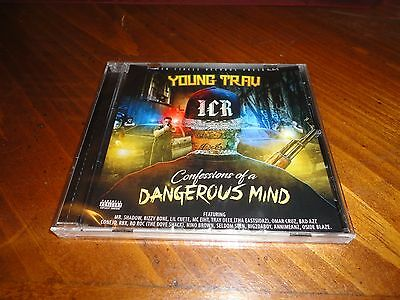 Chicano Rap CD YOUNG TRAV - Confessions of a Dangerous Mind - CONEJO Tray Deee