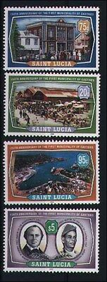 2000 St Lucia - 150Th Anniversary Of Municipality Of Castries - Mint - J42