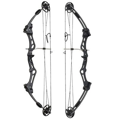 Core Archery Zeal Dual Cam Compound Bow Right Hand 30-45lbs Adjustable Black