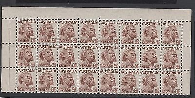 SG238 8½d Aborigine BLOCK of 24 MUH