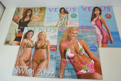 Lot of 5 Venus Swimwear Catalogs from 2009 Bikini Fashion HTF